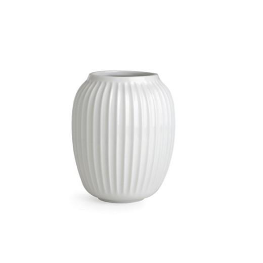 Kähler HH, Vase (mellem) Hvid-31