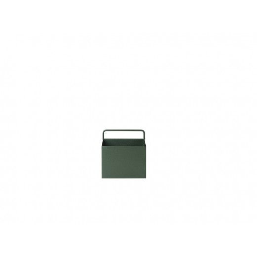 Ferm Living Wall box Square Dark green-31