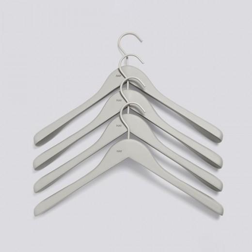Hay Soft Coat Hanger Brede Grå-31