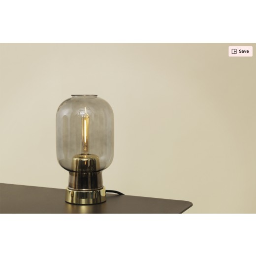 Normann Cph Amp Table lamp, Smoke/Black-31