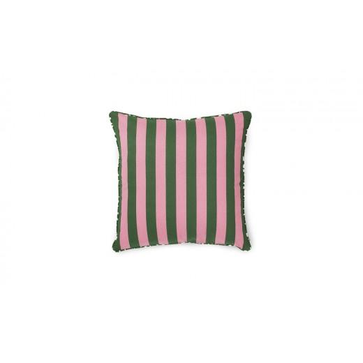Normann Cph Posh Cushion Keep It Simple, Dark rose/dark green-31