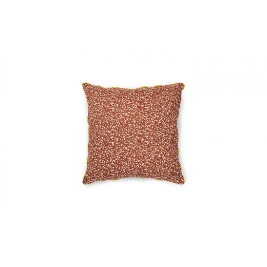 Normann Cph Posh Cushion, Busy Structure, Caramel-31