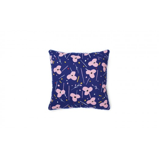 Normann Cph Posh Cushion La Grande Fleur, Ink Blue-31