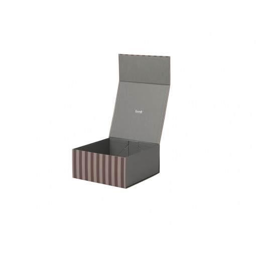Ferm Living . Striped Box Square Bordeux/rose-31