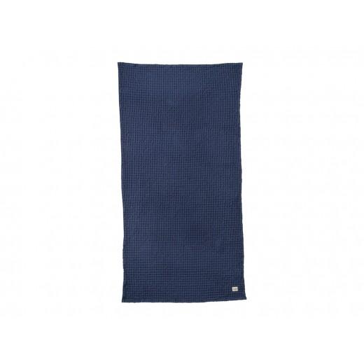 Ferm Living Organic Bath Towel Dusty Blue-32
