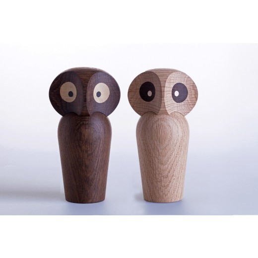 Architectmade Owl lyst træ (Stor)-31