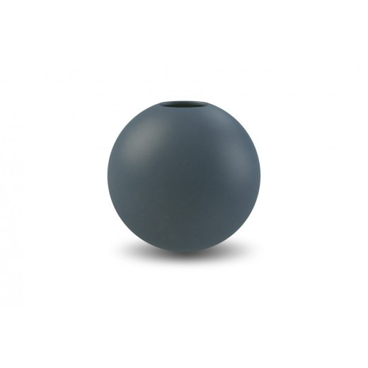 Cooee Ball Vase, Black, 20 cm.-31