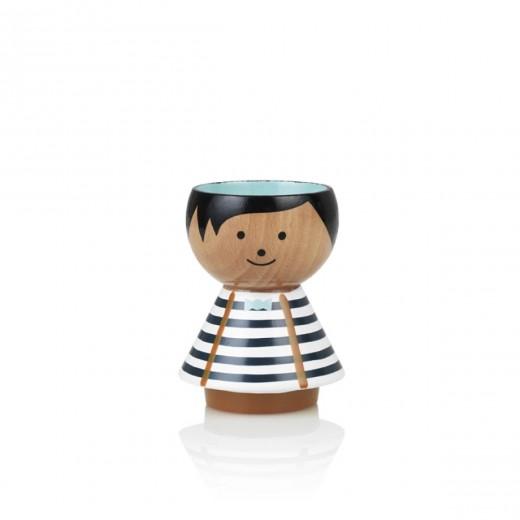 Lucie Kaas Bordfolk Boy, blue stripes-31