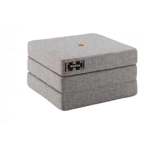 By Klipklap KK 3fold single (Multi Grey 520 w. orange buttons). Varierende levering.-31