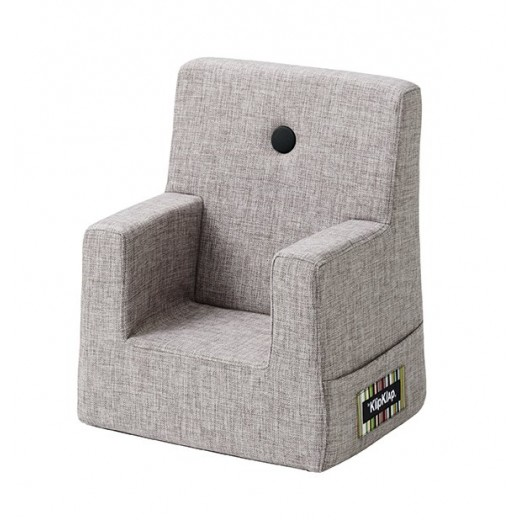By Klipklap KK Kids Chair (Multi Grey 520 w. grey buttons)-31