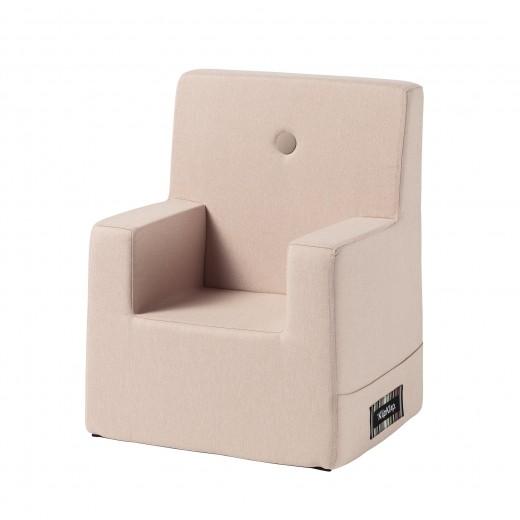 By Klipklap KK Kids Chair XL (Soft Rose 11395B w. rose buttons)-31