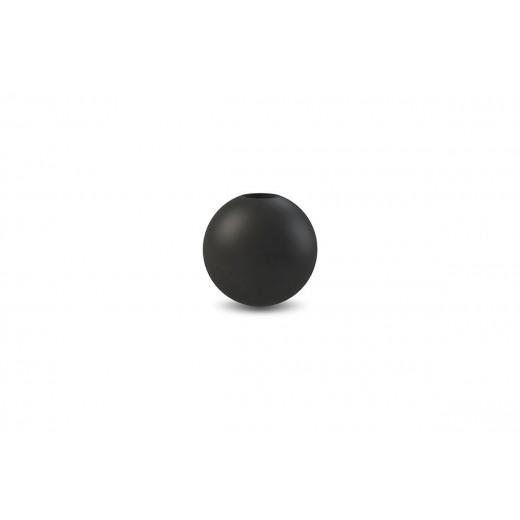 Cooee Candlestick Ball Black 8 cm.-31