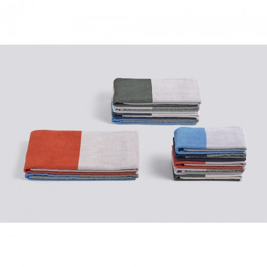 Hay Compose guest towel Red 50x100-31