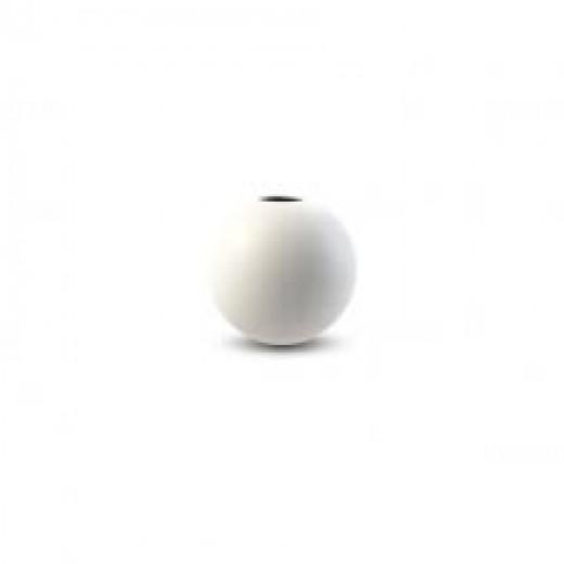 Cooee Ball Vase 8 cm hvid-31