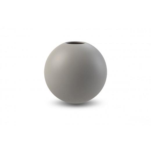 Cooee Ball Vase Grey 20 cm-31