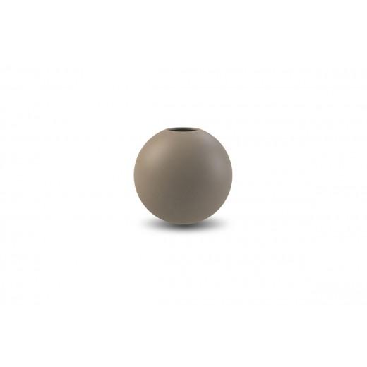 Cooee Ball Vase 10 cm Mud-31