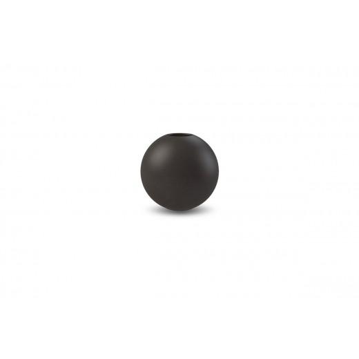 Cooee Ball Vase Black 8 cm-31