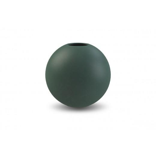 Cooee Ball Vase Mørke grøn-31