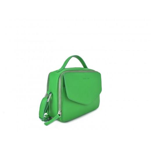 Daniel Silfen Holly Taske Green Leather-31