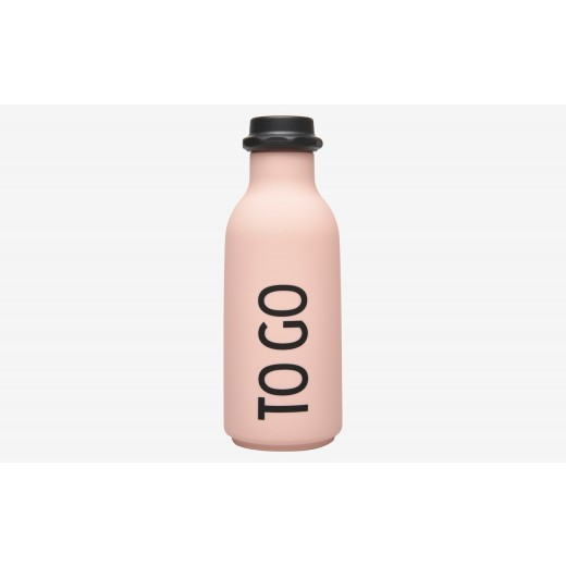 Design Letters - To Go water bottle - Rosa
