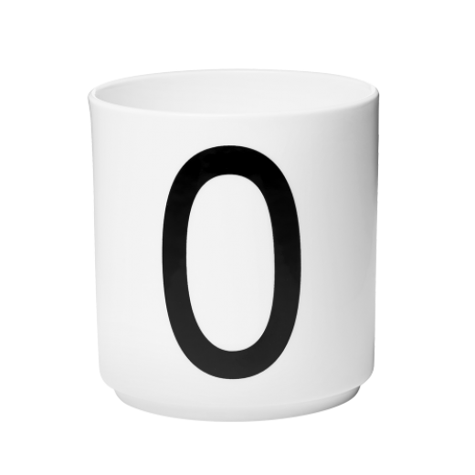 Design Letters Porcelæn krus O-31