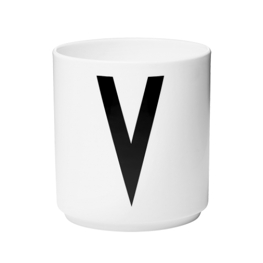 Design Letters Porcelæn krus V-31