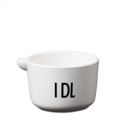 1 DL målekop i porcelæn fra Design Letters