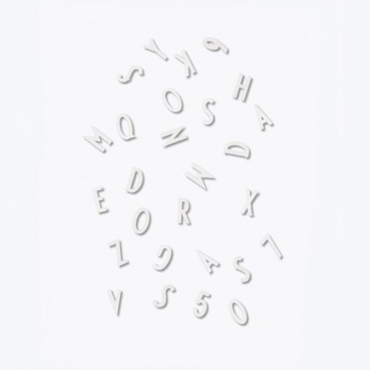Design Letters Letter Box, White, 50 mm.-31