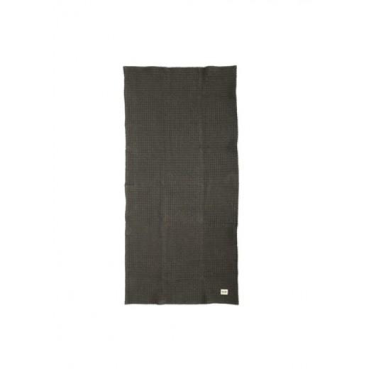 Ferm Living Organic Hand Towel Dark grey-32