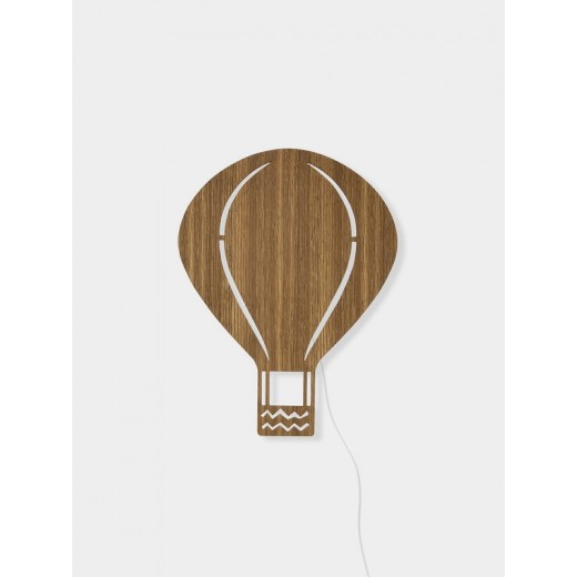 Ferm Living Air Balloon Lamp smoked oak-31