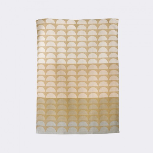 Ferm Living Bridges Tea Towel rosa-31