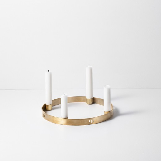 Ferm Living Candle Holder Circle-31