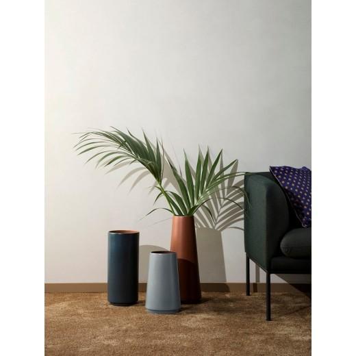 Ferm living dual floor vase gr simpel smuk vase for Ferm living vase
