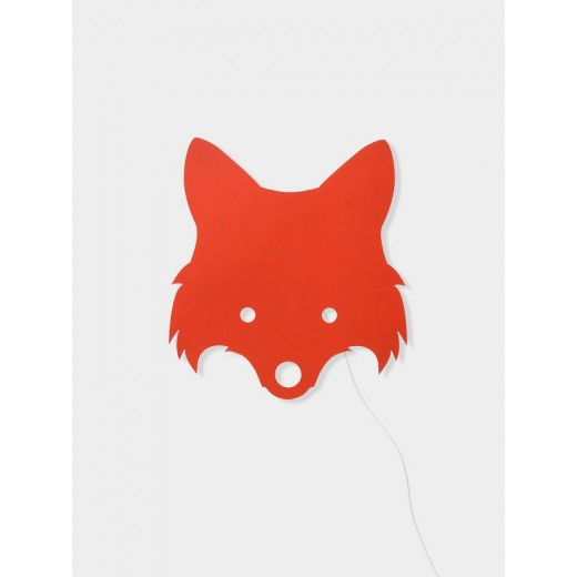 Ferm Living Fox lamp red orange-31