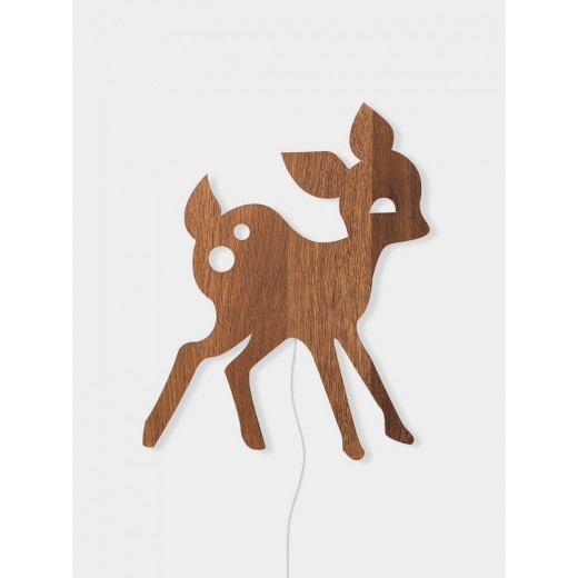 Ferm Living My Deer lamp smoked oak-31
