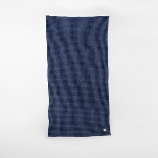 Ferm Living Organic Bath Towel blue-31