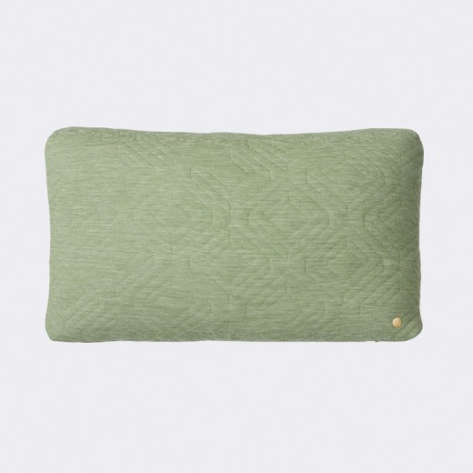 Ferm Living Quilt Cushion grøn-31