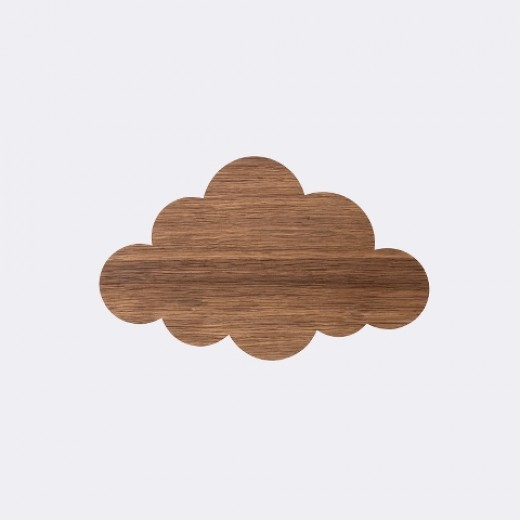 Ferm Living Cloud lamp smoked oak-31