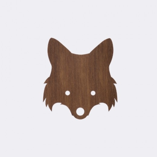 Ferm Living Fox lamp smoked oak-31