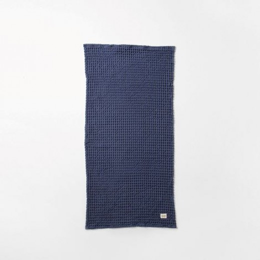 Ferm Living Organic Hand Towel Blue-31