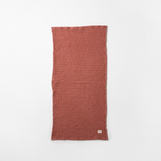 Ferm Living Organic Hand Towel rust-31