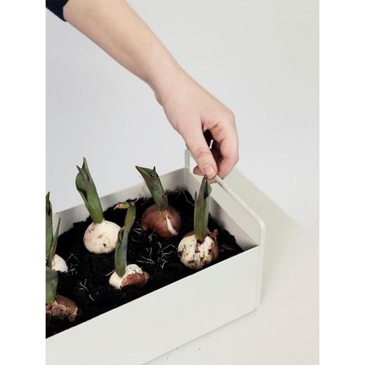 Ferm Living Plant box (Light Grey)-31