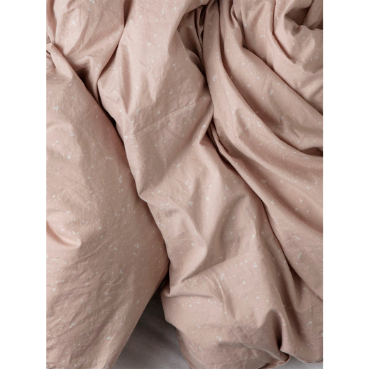 Ferm LIving - Hush Duvet Cover Milkyway - Rose