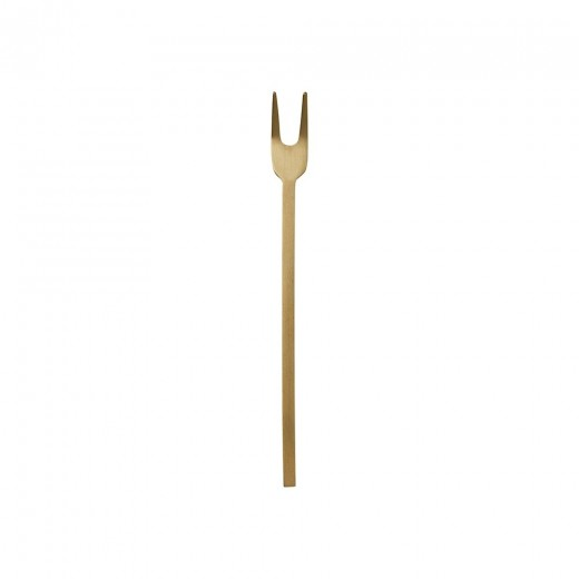 Ferm Living Fein Relish Fork Gaffel, messing.-31