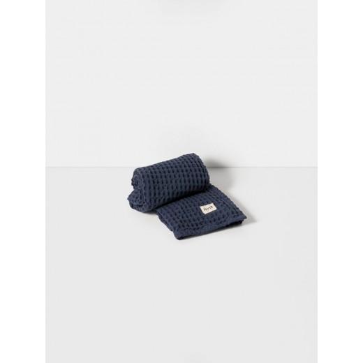 Ferm Living Organic Hand Towel Dusty Blue-32