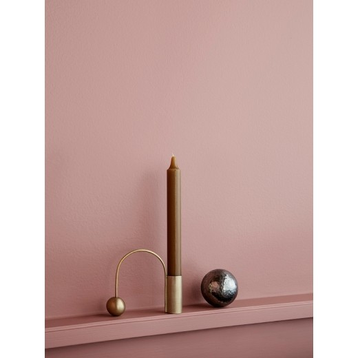 Ferm Living Balance Candle Holder Messing-31