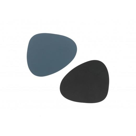 LindDNA Glass Mat Curve Double Nupo (Dark Blue / Black)-31