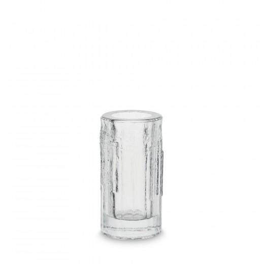 H Skjalm P Rå Glas vase/fyrfadsstage-31