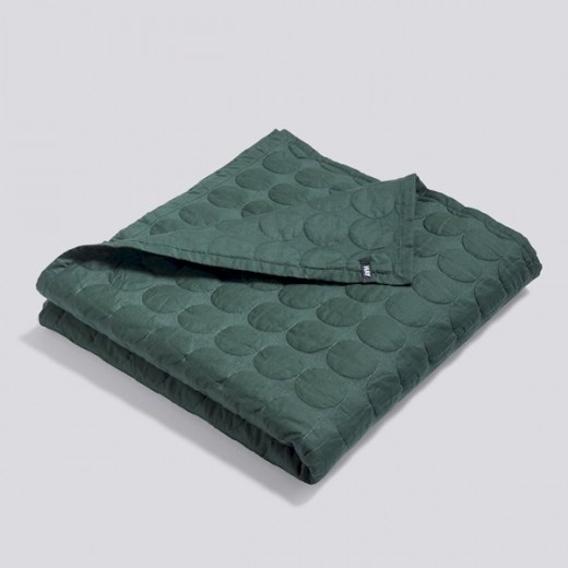 Hay Mega Dot Tæppe dark green 235x245.-31