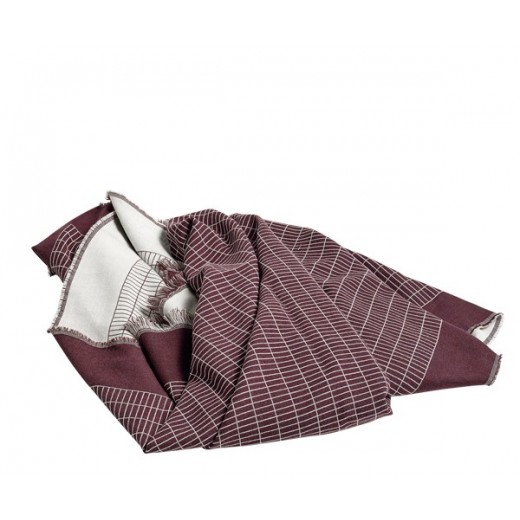 Hay Checked Out Plaid Bordeaux-31